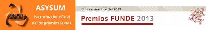 Asysum patrocinador oficial de los premios Funde edición VIII