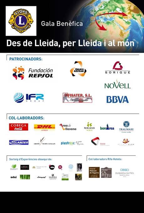 Un año más Asysum ha patrocinado la Gala Benéfica de LIONS Lleida