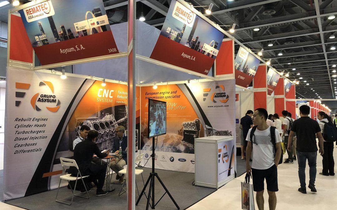 Grupo Asysum participa en la feria Rematec Asia en Guangzhou (China)